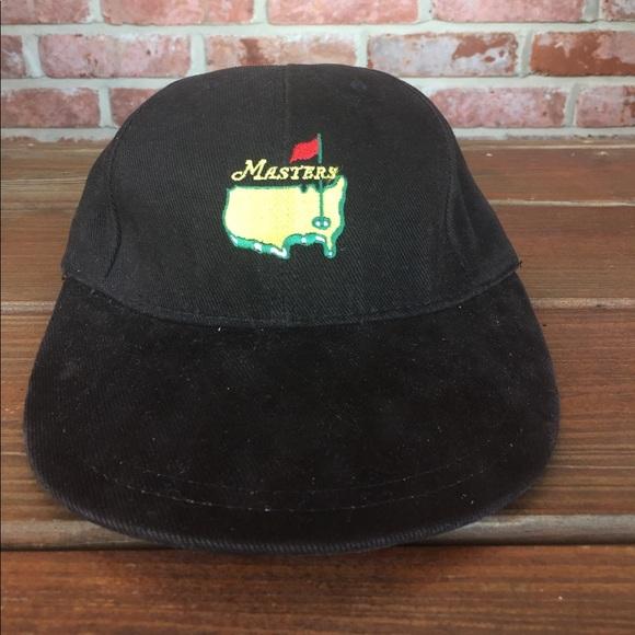 American Needle Other - American Needle Black Corduroy Masters Golf Hat ddceb356cca